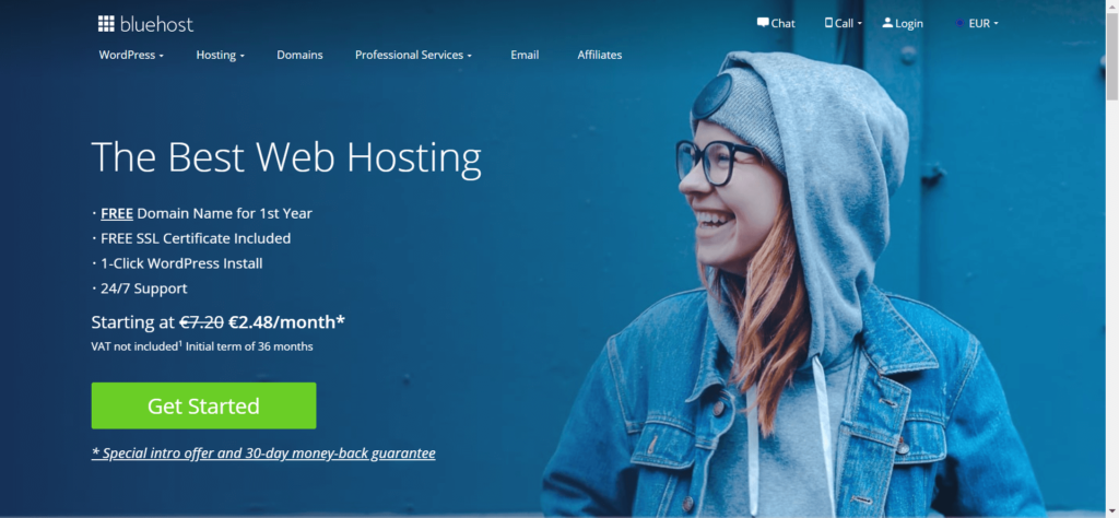 Bluehost-recensione