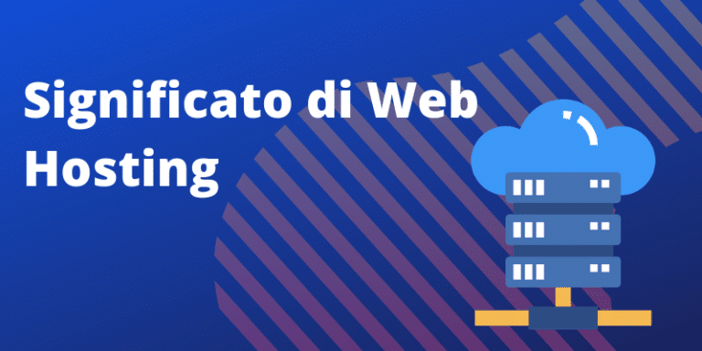 Web Hosting Significato